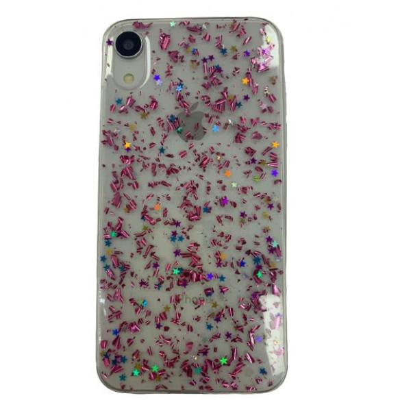 Чехол накладка iPhone Xr  Magic Brilliance (pink)