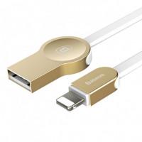 Кабель Baseus Keyble Cable Lightning (Zinc Alloy) (Золотой)