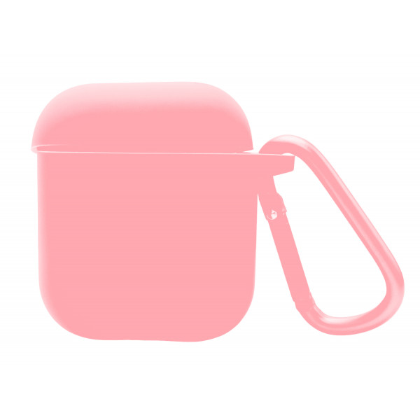 Чехол для AirPods Blueo Liquid Silicone (Pink Sand)