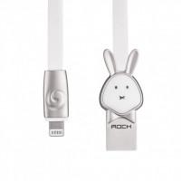 Кабель ROCK Rabbit Lightning (1m) (White)
