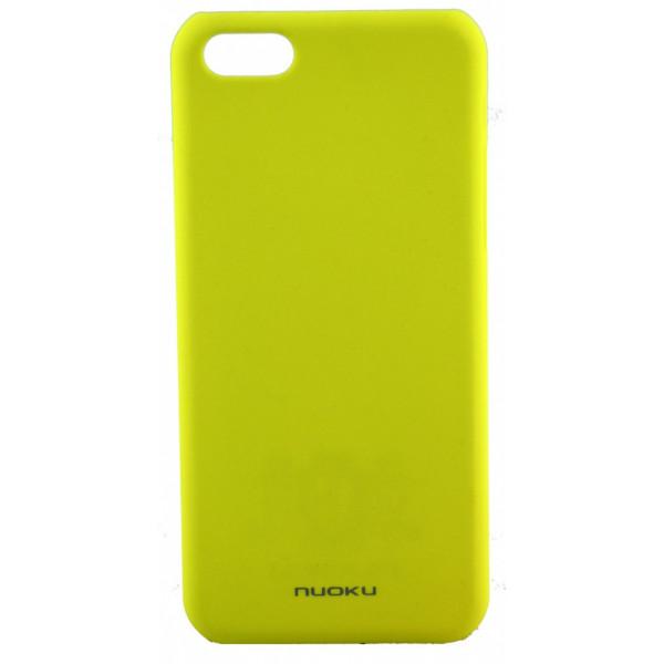 Чехол Накладка для iPhone 5C NUOKU FRESH (Жёлтый) (Пластик)