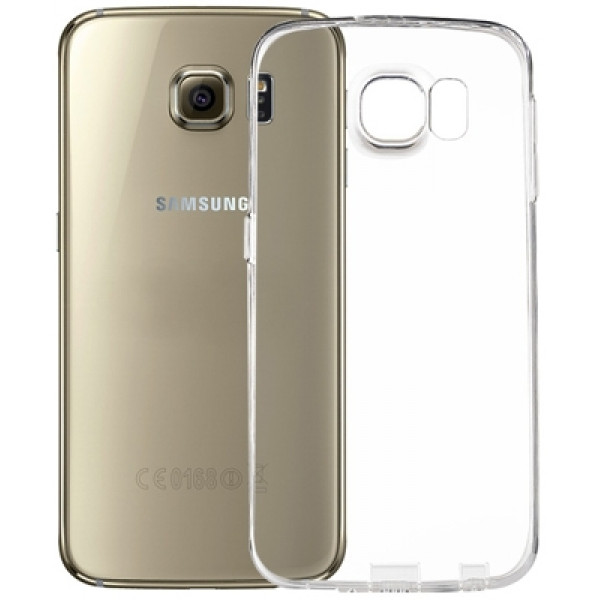 чехол накладка Ultra Thin Remax 0.2mm for Samsung S6 White