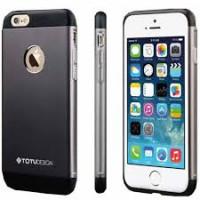 Чехол Накладка для iPhone 6 Plus TOTU Design (Серый) (Алюминий)