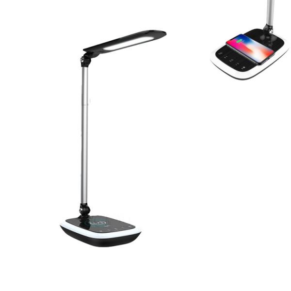 Настольная лампа с беспроводной зарядкой Hoco Splendid Eye Care Wiireless Charger (black)
