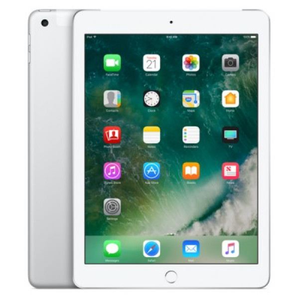 Apple iPad Wi-Fi + Cellular 32GB Silver (MP252)