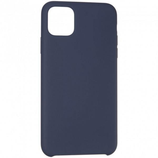 Чехол Накладка для iPhone 11 Pro Max Hoco Pure Series Protective Case (Dark Blue) (Полиулетан)