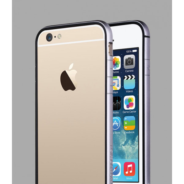Бампер для iPhone 6 TOTU EVOQUE (Серый) (Пластик)