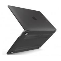 Чехол накладка MacBook Pro 16 (2019) DDC (Матовый/Черный)