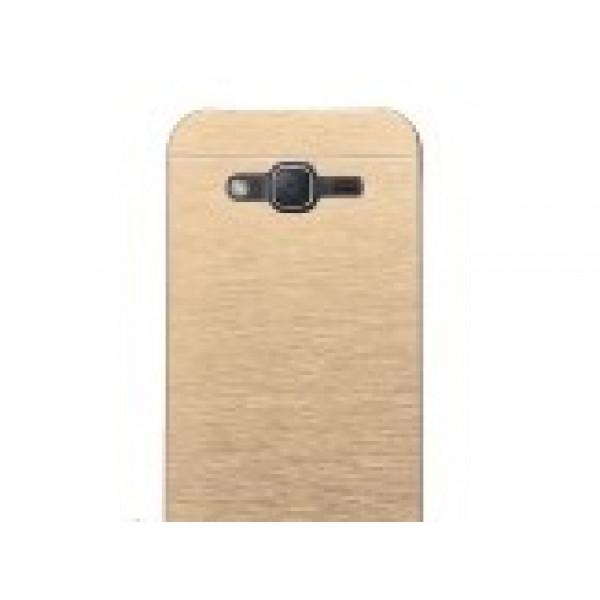 Чехол накладка Ultra steel defense для Samsung S6 (Gold)