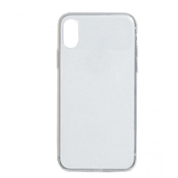 Чехол Накладка для iPhone Xs Max X-Level Rainbow Case (white)