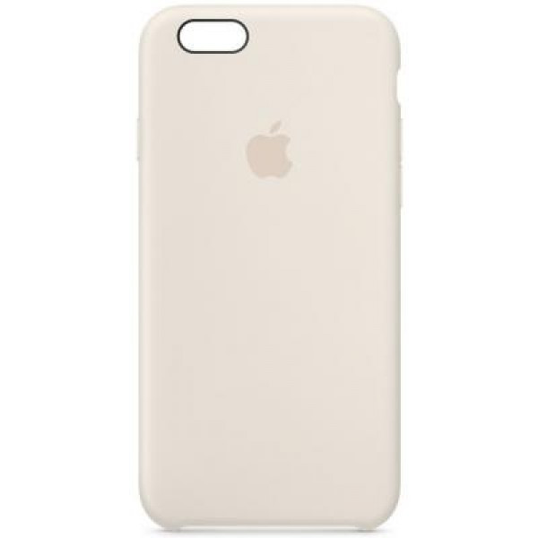 Чехол Накладка для iPhone 6 Plus Apple Silicone Case Original (Antique White) (Силикон)