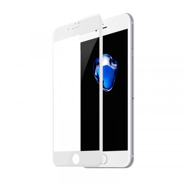Стекло защитное iPhone7 Plus\8 Plus 9Н 2,5D (white)