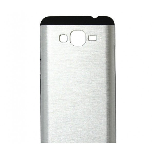 Чехол накладка Ultra steel defense для Samsung S6 (Silver )