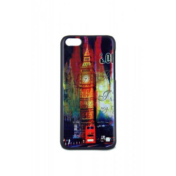 Чехол Накладка для iPhone 5C VOUNI (цветной) (пластик)