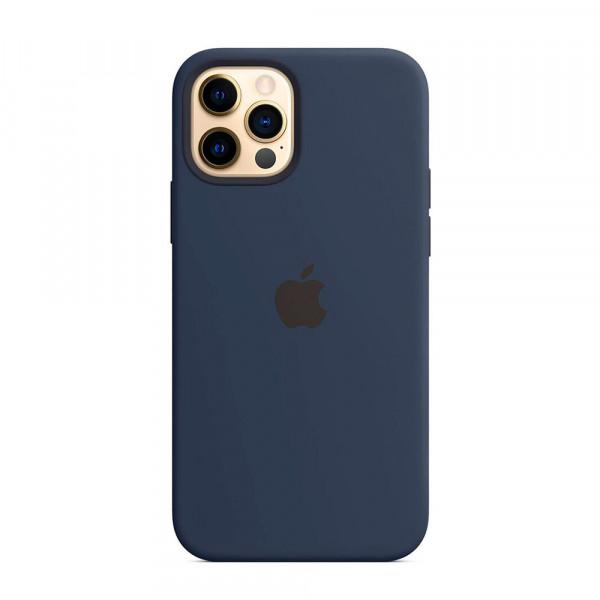 Чехол iPhone 12 Pro Max Apple Silicone Case (Deep Navy)