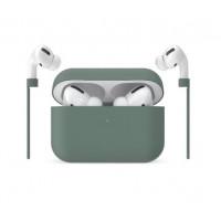 Чехол для AirPods Pro AmazingThing Ultra Skinny Premium (Green)