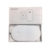 Беспроводная зарядка  Dual Wireless Charger X12  /white/