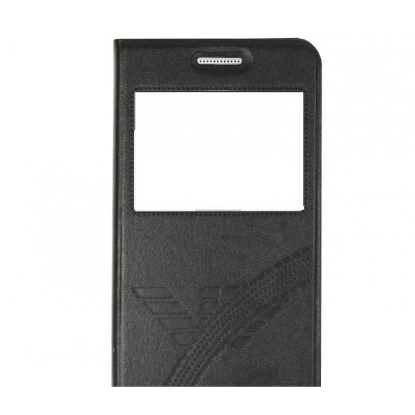 Чехол книжка Hozis для Samsung Galaxy S6 Black