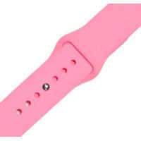 Ремешок-браслет для Apple Watch 42mm Silicone Band (pink)