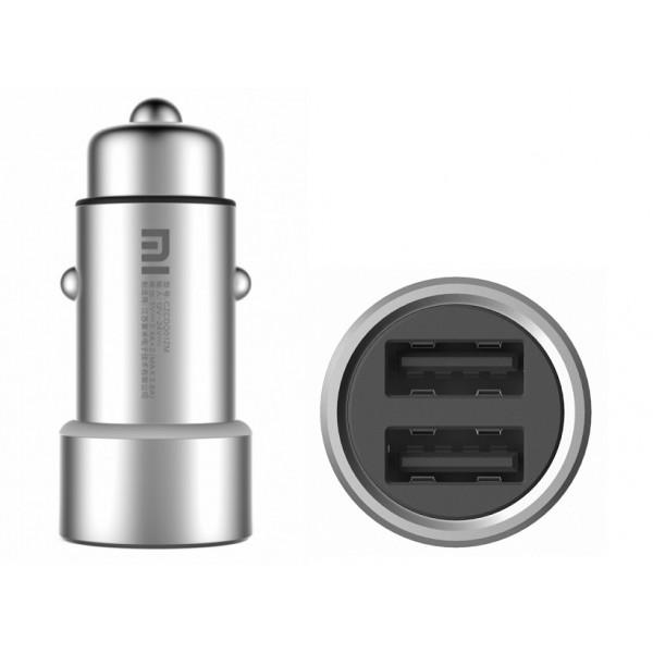 Автомобильное зарядное устройство Xiaomi Car Charger 2 (Silver)