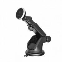 Авто Держатель BASEUS Solid Series Telescopic Magnetic (Серебристый) (Пластик)