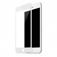Защитое стекло 3D Glass Screen Protector for iPhone 7 Matte (Белый)