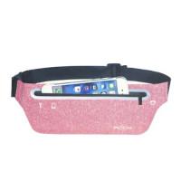 Спортивный чехол на пояс ROCK Sports Waist bag (slim) pink