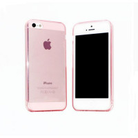 Чехол накладка iPhone 5 Shining Case pink