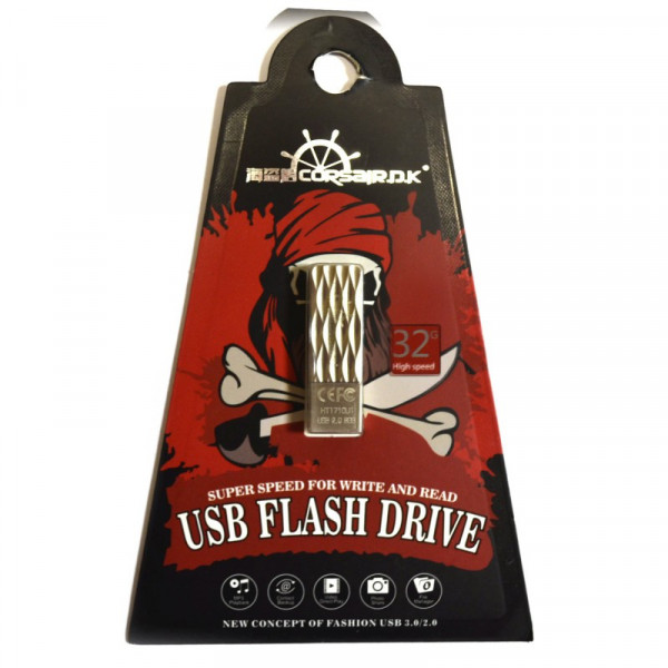 Накопитель памяти USB  Lightning Corsair 32GB (silver)