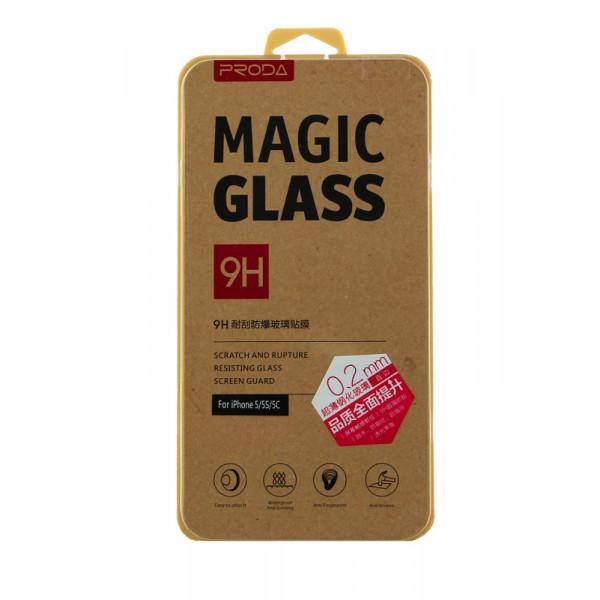 Защитное Стекло для iPhone 5/5S/5C iMAX Glass 0.1mm(закругленные края) (Стекло)
