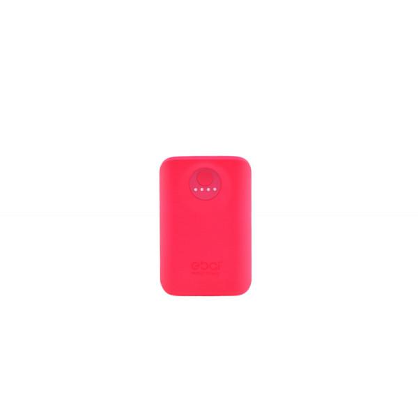 Портативное зарядное устройство Power Bank Ebai 5600mAh Розовый
