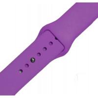 Ремешок-браслет для Apple Watch 38mm Silicone Band (Фиолетовый)