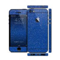 Защитная Пленка для iPhone 5/5S SLIMSKIN (360) (Синий) (Diamond)