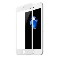 Защитные стекло iPhone 7 Plus /8 Plus Mr. Yes 3D Tempered Glass 0.33mm + Back Screen (White)