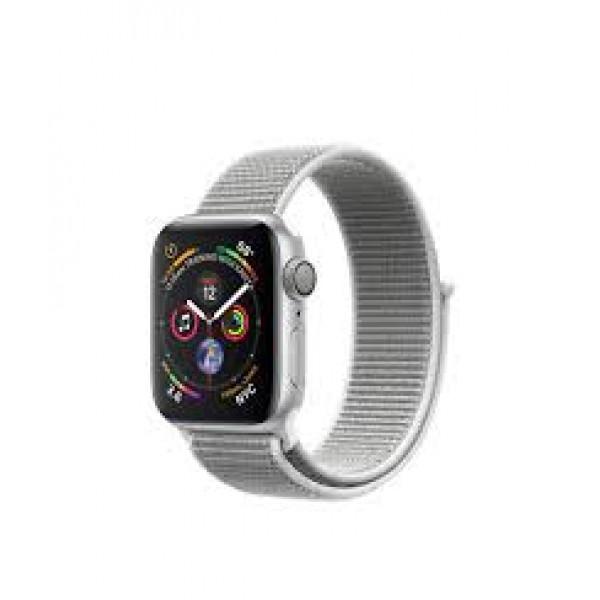 Apple Watch Series 4 GPS 40mm Silver Alum. w. Seashell Sport l. Silver Alum. (MU652)