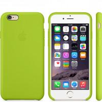 Чехол Накладка для iPhone 6 Apple Silicone Case High Copy (Зелёный) (Силикон)