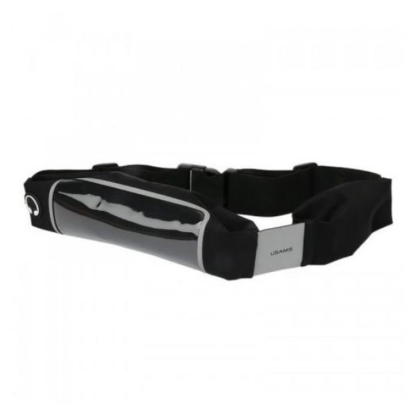 Чехол на пояс Usams Waterpoof Waist Bag 5,5 (black)