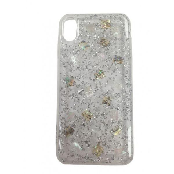 Чехол Накладка для iPhone Xs Max  X-DORIA Natural shells (cler pearl)