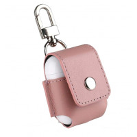 Чехол для AirPods Leather Case (Pink)
