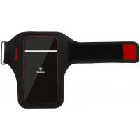 Чехол на руку Baseus Flexible Wristband 5.0 (Black-Red)
