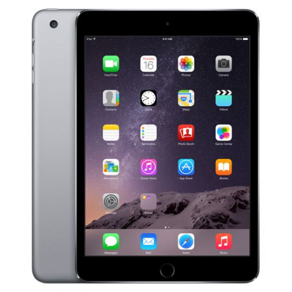 Apple iPad mini 3 Wi-Fi + LTE 128GB Space Gray (MH3L2)