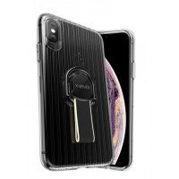 Чехол Накладка для iPhone Xs Max X-Level Suit Case (black)
