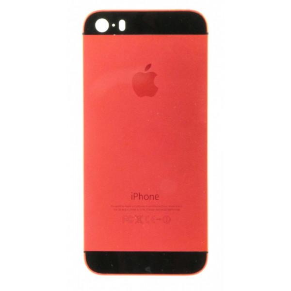 Корпус с кнопками iPhone 5s (Красный)