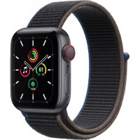 Apple Watch SE GPS + Cellular 40mm Space Gray Aluminum Case with Charcoal Sport L. (MYEE2, MYEL2)