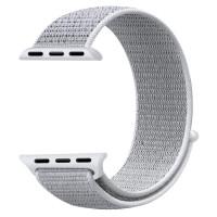 Ремешок для Apple Watch 38mm Nylon Sport Loop Band (Seashell)