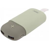 Портативное зарядное устройство Remax Camaroon Series 5000 mAh RPL-32 (gray)