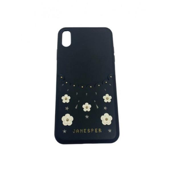 Чехол накладка iPhone Xs Max Californla Plum Case (black)