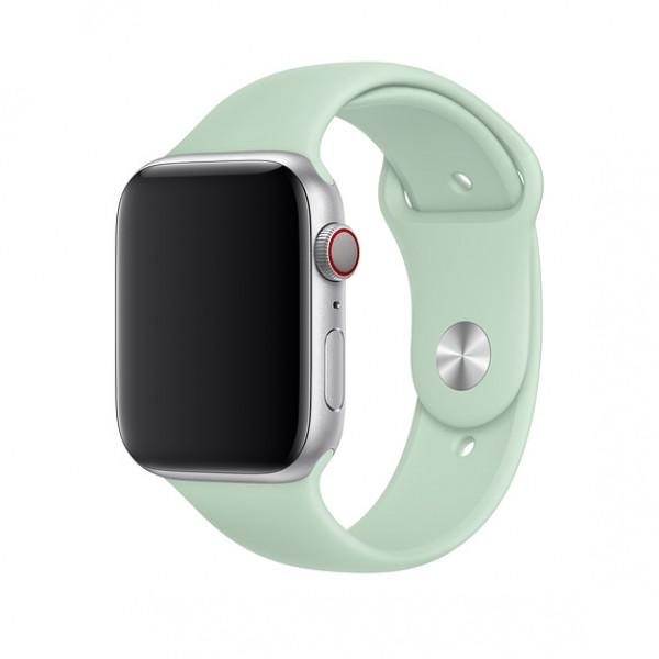 Ремешок-браслет для Apple Watch 38mm/40mm Silicone Nike Sport Band (Beryl)