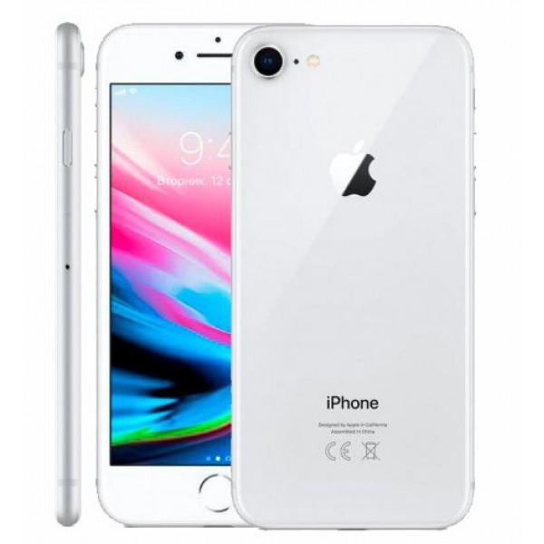 Apple iPhone 8 128GB (Silver) (MX142)