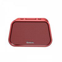 Колонка акустическая Baseus Encok Speaker E02 U-Disk/TF Card/AUX (Red)